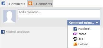 Membuat Kotak Komentar Facebook dan Blogger Berdampingan