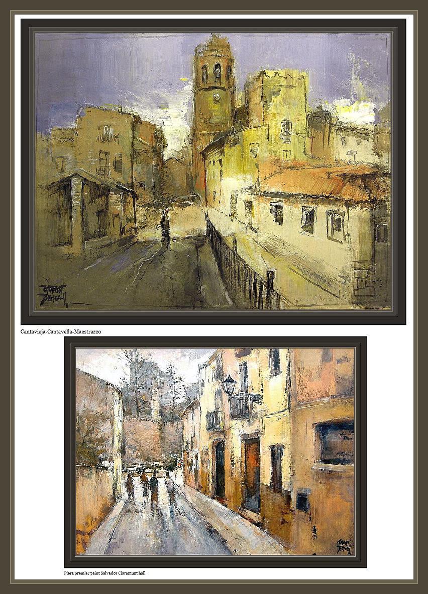 Oleo cuadros tripticos bodegones paisajes abstractos - Cuadros tripticos ...