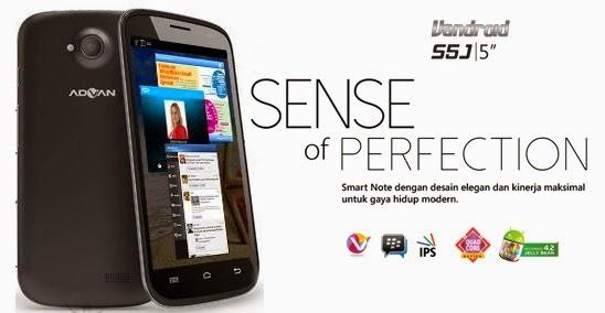 Spesifikasi Dan Harga hp Advan Vandroid S5J Android Jelly Bean Quad Core Murah