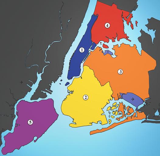 Condados de New York City