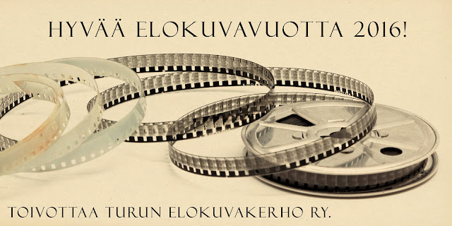 Turun elokuvakerho toivottaa hyvää elokuvavuotta 2016!