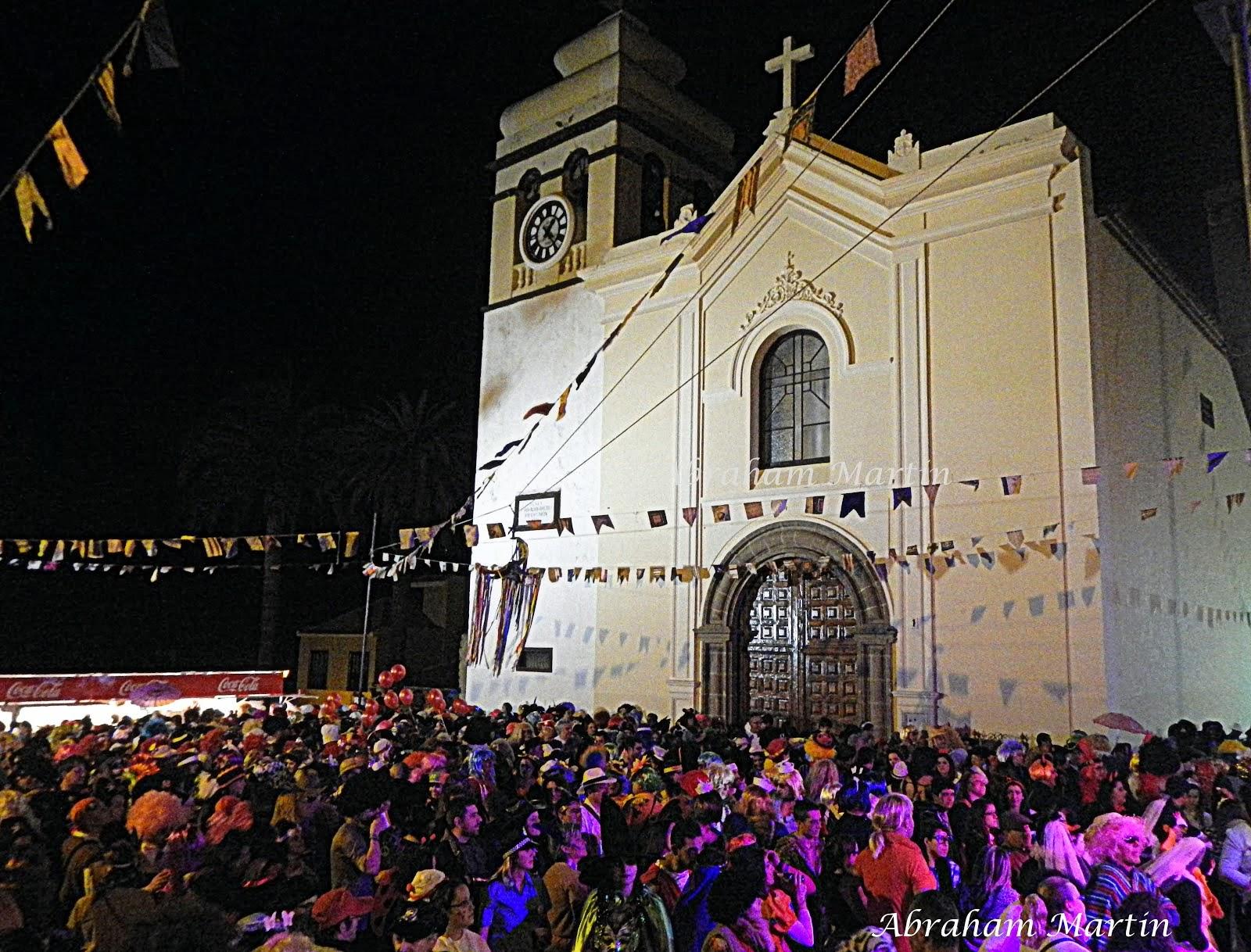 BAILE DE PIÑATA DEL CARNAVAL DE LA OROTAVA