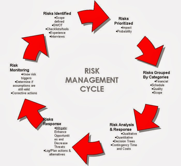Klasifikasi Manajemen resiko proyek