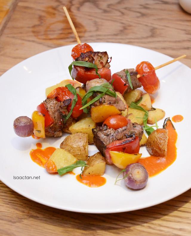 Grilled Beef Skewers - RM18