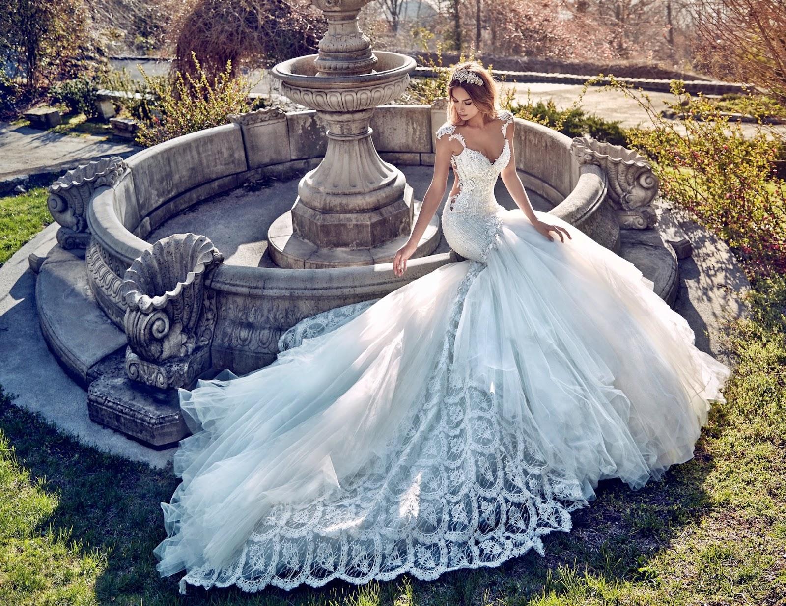 Самые модные свадебные платья 2017 новинки