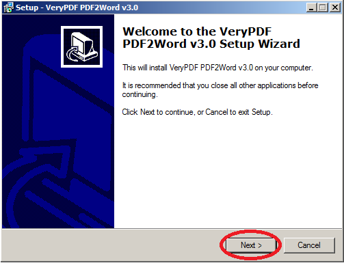 word to pdf converter setup exe