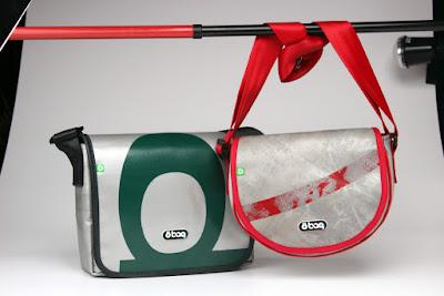Unique handbags in pair