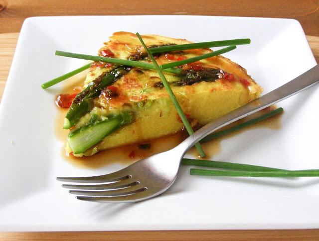 Vegan Asparagus Frittata