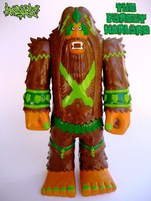 Kuso Vinyl - The Forest Warlord Vinyl Figure by Bigfoot