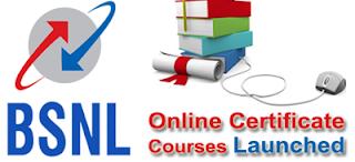 BSNL Online Certificate Programmes