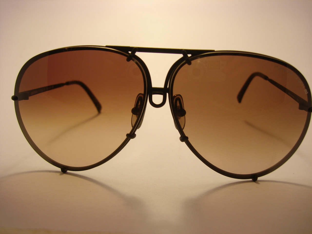 Theothersideofthepillow Vintage Porsche Design By Carrera 5621 Black Aviator Sunglasses Made In