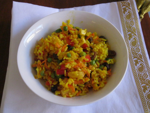 Fudging The Menu: Curried Rice Salad