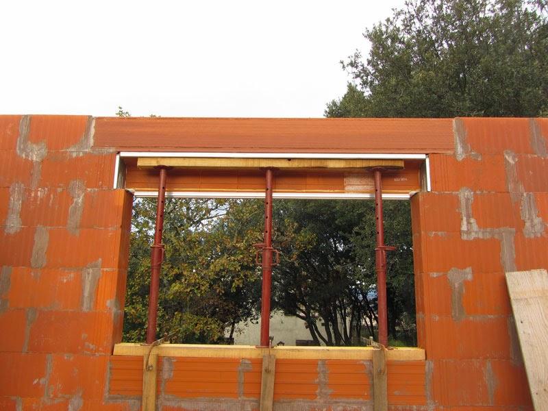 Construire une maison rt2012 zone for Linteau fenetre