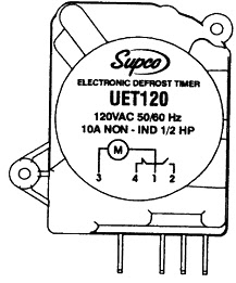 UET120 Universal Defrost Timer