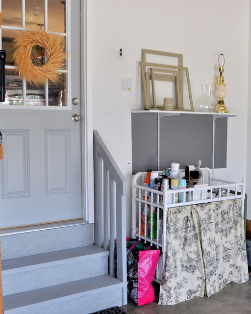 Garage Entry Makeover