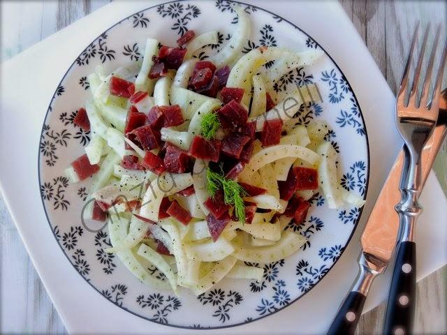insalata di finocchi e bresaola