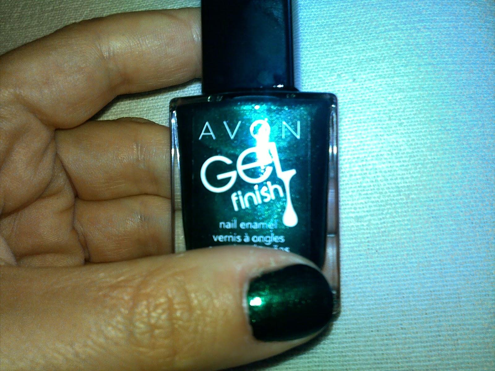 Avon, Gel Finish Nail Enamel, in shade Envy