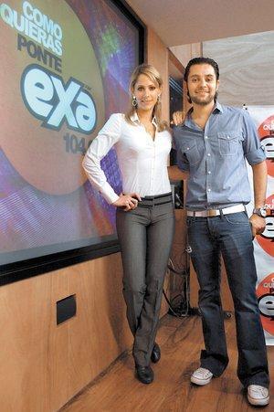 Ricardo Casares e Inés Sainz