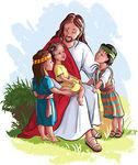 Jesús ama a los niños