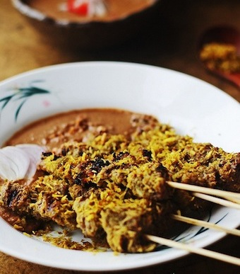 indonesian coconut beef satay recipe