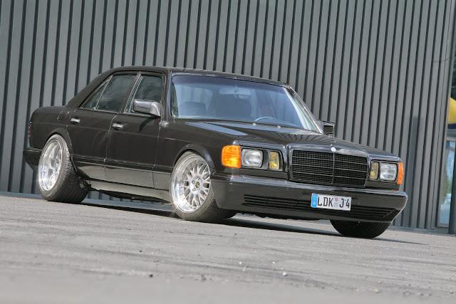 w126 custom