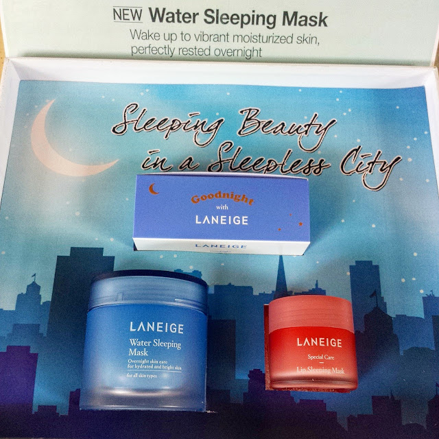 Laneige Skin Care that nourishes skin during sleep