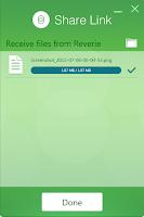 Asus ShareLink App File Received - Geeky Juan