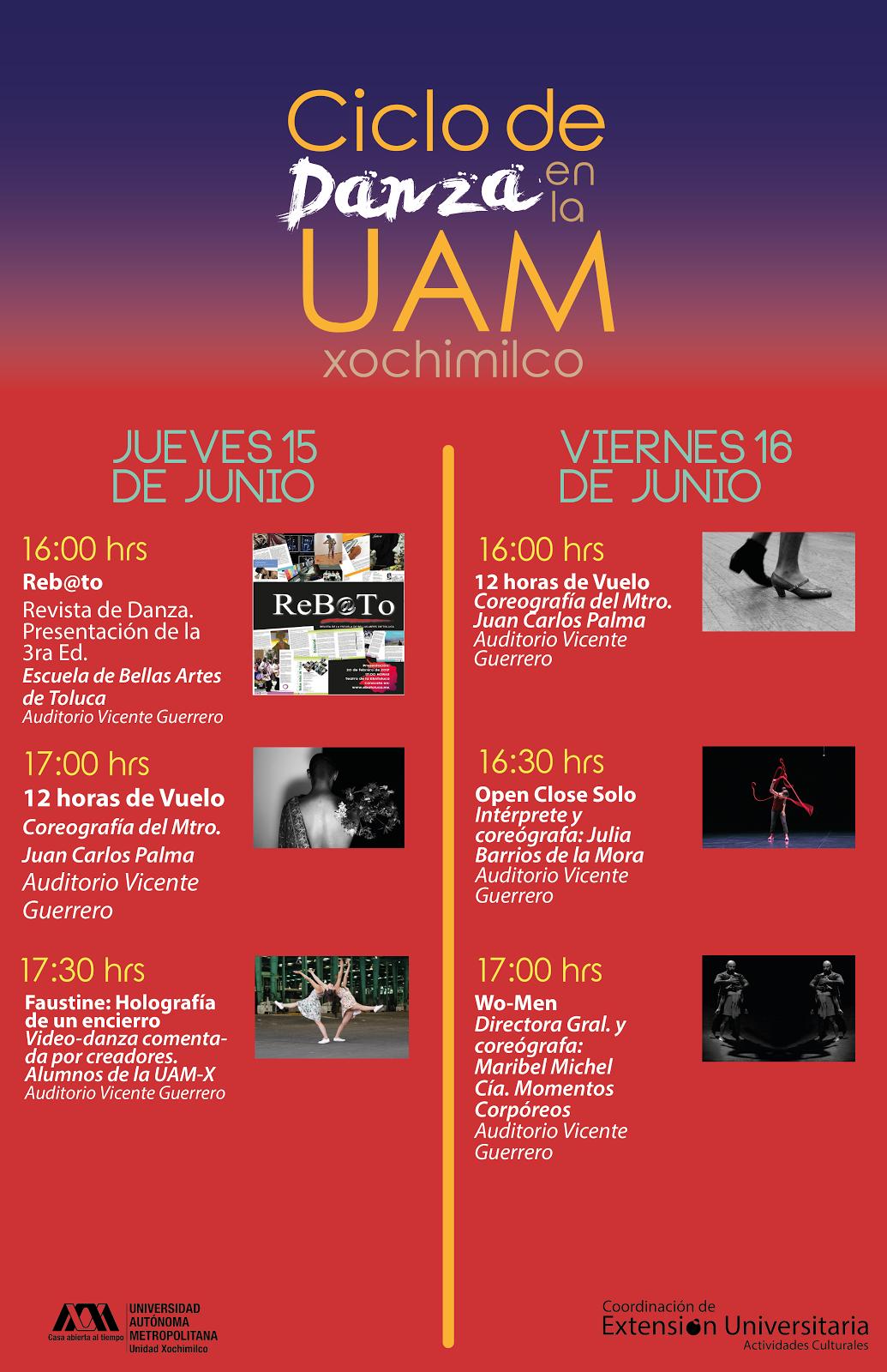 Ciclo de Danza UAM