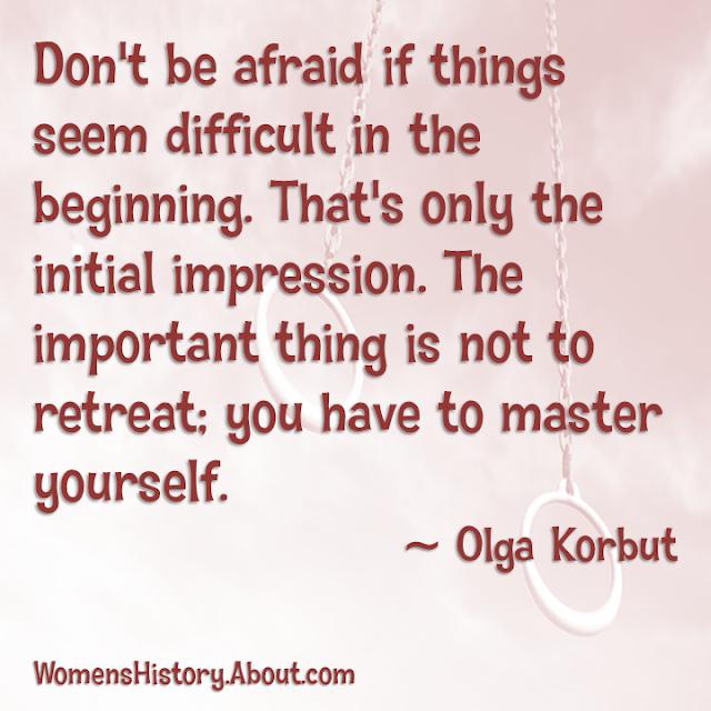 Olga Korbut sports quotes