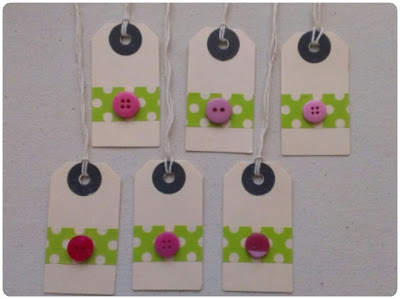 craftypainter: washi tape gift tags