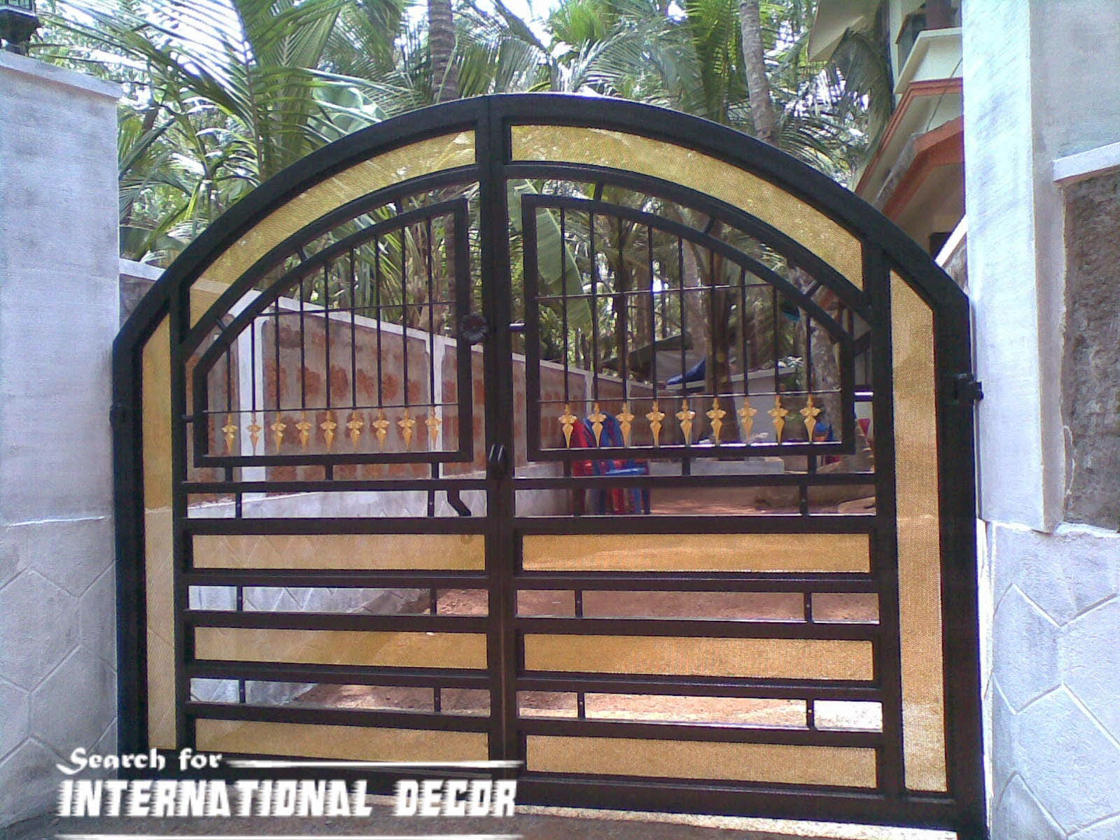 Choice of gate designs for private house and garage - Girl\'s Room ...