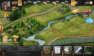 Screenshots of the Commanders for Android tablet, phone.