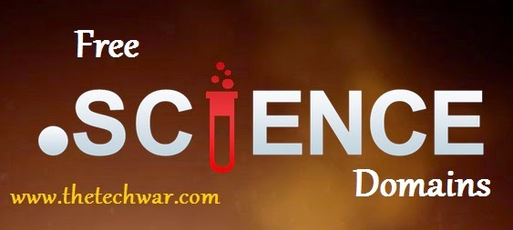 Register .Science Domain for Free 1