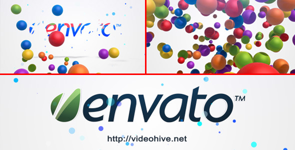 VideoHive Bubble Logo Intro