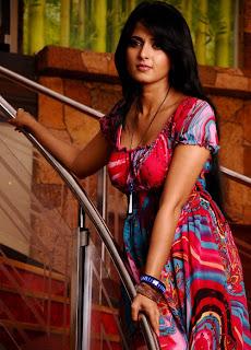 Anushka Shetty Cute Photos In Short Dress