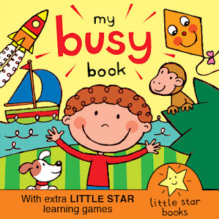 cover picture for My Busy Book kindle ebook for kids