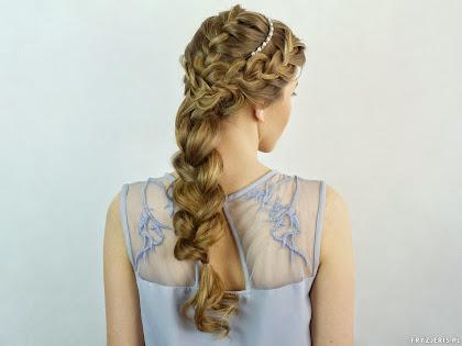 fryzura ślubna 3