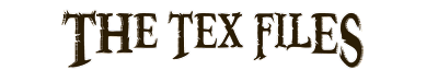 The Tex Files - Home of Arianne 'Tex' Thompson