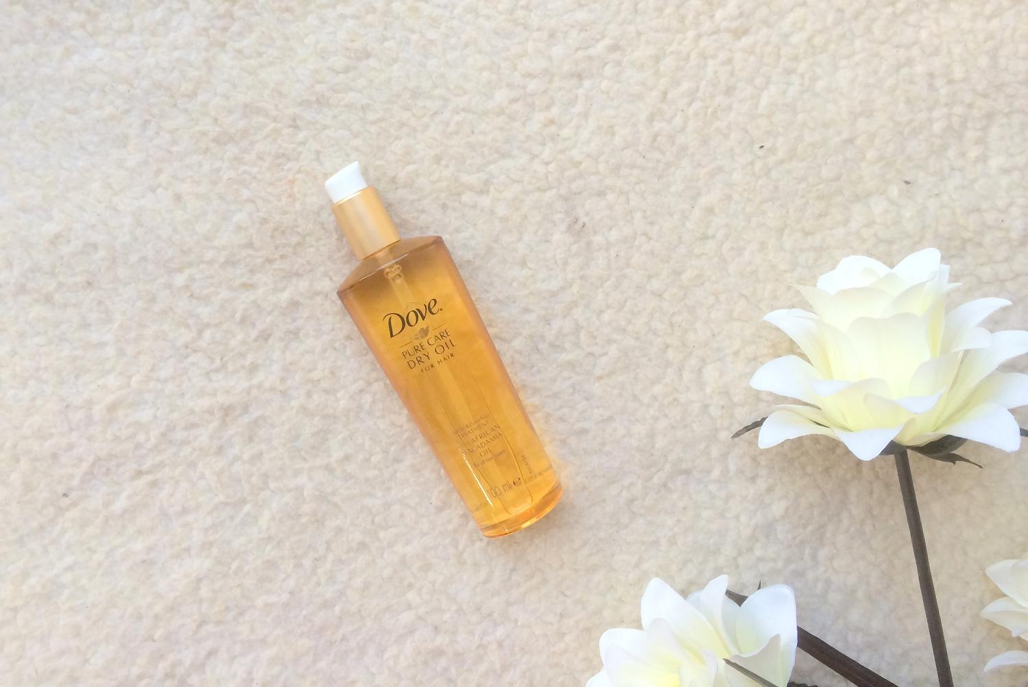 dove dry oil hair review