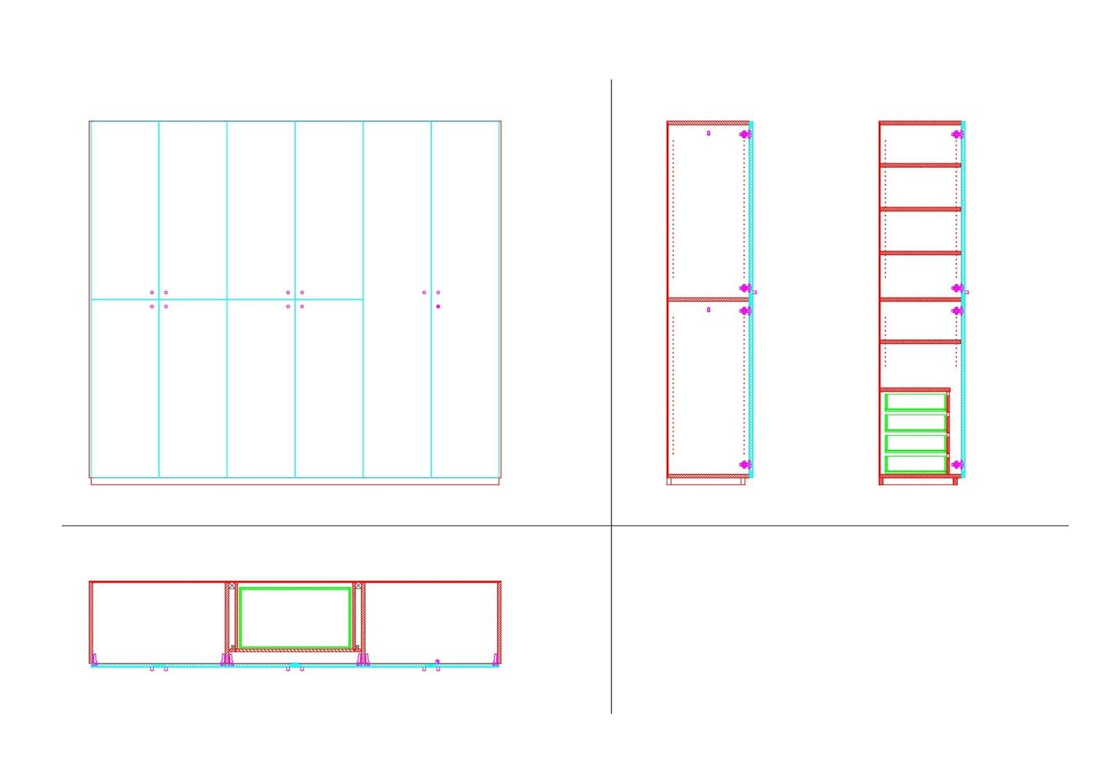 Costruiamo i mobili la costruzione del mobile 6 - Programma disegno mobili ...