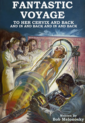 fantastic voyage to her cervix and back written by bob melonosky