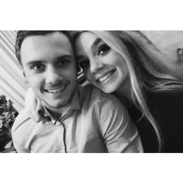 Max en vriendin Sylvana