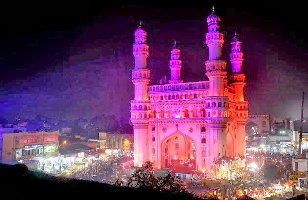 Char Minar Of  Hydrabad