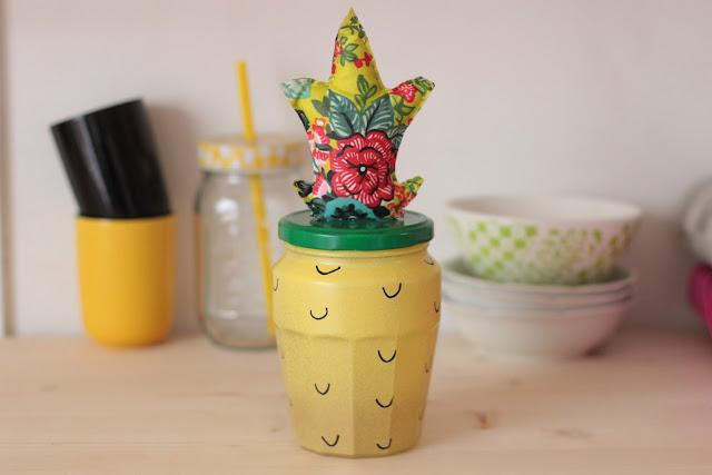diy pot ananas customiser