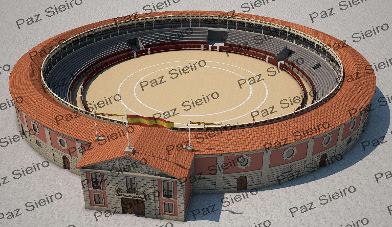 Proxecto praza de touros 1896 ourense arquitecto - Arquitectos ourense ...