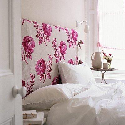 Entre e sinta se em casa cabeceira de cama id ias - Telas para forrar cabecero cama ...