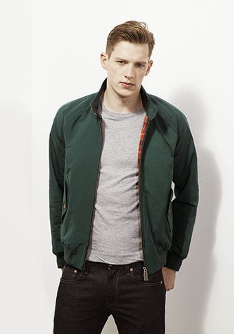 Baracuta for Autumn/Winter 2014 - in stock now