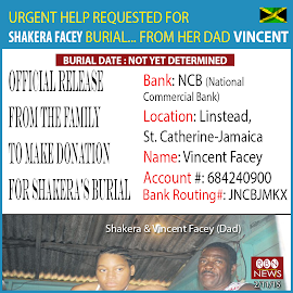 Urgent Help Needed for Shakera Facey's Burial