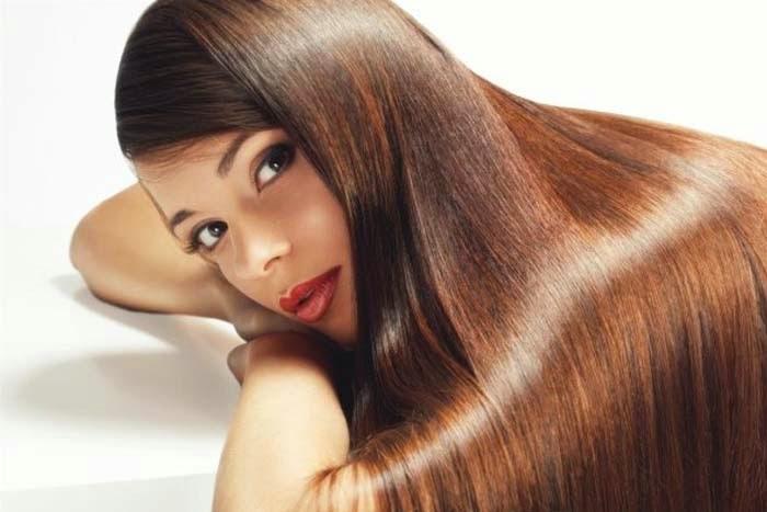فوائد خل التفاح لتنعيم الشعر
