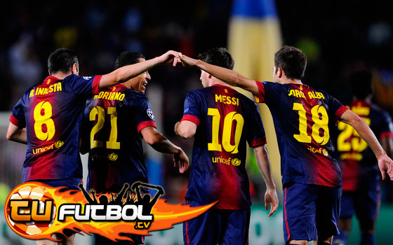 Partido Barcelona vs Rayo Vallecano en vivo 2012